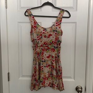 Luca Couture Floral Dress 0